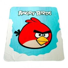 Manta polar de #AngryBirds Clouds por sólo 8.59€!