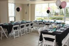 A Tiffany inspired baby shower by Fresh Celebrations