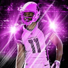 @larryfitzgerald BCA edit. Fits lost his mother to breast cancer in 2003 and today is one of the most dominant receivers in the NFL! Keep it man! #legend #cardinals #bca #breastcancerawareness...