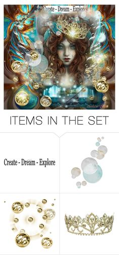 """""""Create Dream Explore"""" by pebbles78 ❤ liked on Polyvore featuring art"""