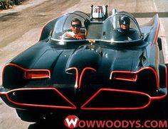 Bat Mobile Adam West Batman Show