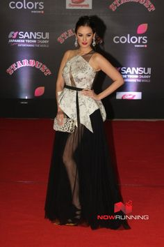 Evelyn Sharma at Sansui Stardust Awards Red Carpet