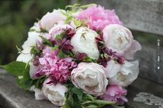 Fluffy and fragrant peony bouquet by Emma Lappin Flowers | CHECK OUT MORE IDEAS AT WEDDINGPINS.NET | #weddings #weddingflowers #weddingbouquets #bouquets