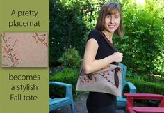 The Placemat Tote - Sew4home