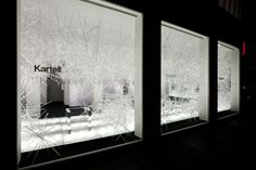 THE INVISIBLES - SNOWFLAKES / Tokujin Yoshioka / Kartell Gallery, 2010