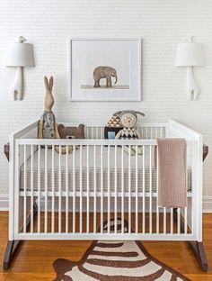 ChicDecó   Cute Safari Nursery • Cot