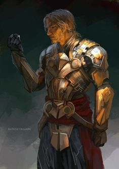 M human fighter paladin cleric