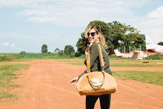 Sophia Bush Uganda Safari