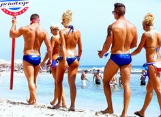 Ibiza. Privilege Club, beach promotion.