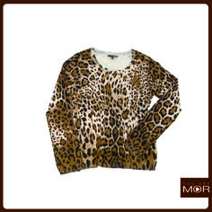Sweater animal print. Cód 42170 / Precio $29,990