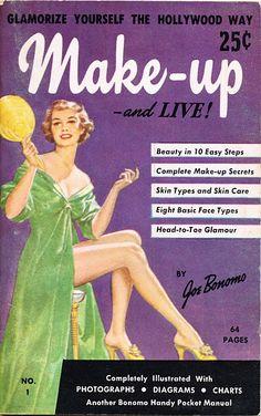 #ephemera Vintage Makeup, Vintage Beauty, Vintage Advertisements, Vintage Ads, Retro Advertising, Vintage Ephemera, Vintage Barbie, Vintage Style, Beauty Advice