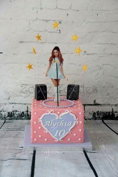 Ariana Grande cake