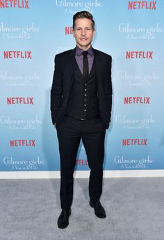 Matt Czuchry at the Gilmore Girls: A Year In The Life premiere
