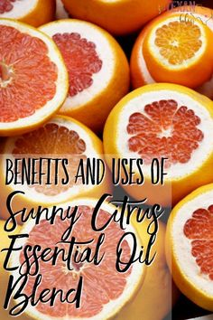 Sunny Citrus Essential Oil Blend Benefits and Uses