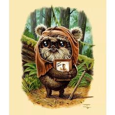 Sir Mitchell #art #illustration #ewok