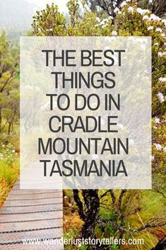The Best Things to do in Cradle Mountain in Tasmania! - The ultimate guide to the best things to do in Cradle MountainTasmania – including best Cradle Mountain hiking, photos, video, where to stay and much more! Australia Destinations, Australia Travel, Visit Australia, Western Australia, Cradle Mountain Tasmania, Tasmania Travel, Stuff To Do, Things To Do, Mountain Hiking