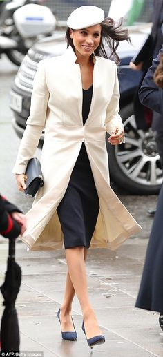 The event at Westminster Abbey is a public acknowledgement by the Queen of the US actress, who will soon be joining her family when she marries Prince Harry on May 19.