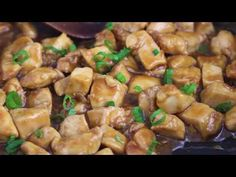 This lighter General Tso's Chicken is made with tender chunks of white meat chicken –more than half the calories than take-out!