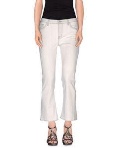 CHRISTOPHER KANE x J BRAND Women's Denim pants Ivory 26 jeans