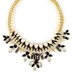 Catholic Black Double Layer Diamond Decorated Alloy #Fashion #Necklaces    US$ 5.71 www.asujewelry.com
