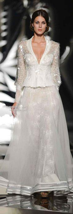 (vía Mireille Dagher Fall Winter 2013-14 Haute Couture)