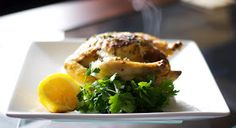 Carrie's Experimental Kitchen: Lemon Roasted Cornish Hens