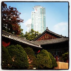 Seoul, Korea - old meets new