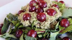 Mayo-less Tuna & Grape Salad