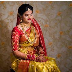 Fancy Blouse Designs, Saree Blouse Designs, Blouse Patterns, Saree Wedding, Wedding Bride, Orange Saree, Bridal Outfits, Indian Designer Wear, Saree Collection