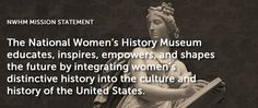 National Women's History Museum. Didn't know this site existed - VERY interesting info.
