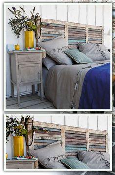 Tuto tête de lit en palette de bois