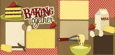 Baking Together Page Kit