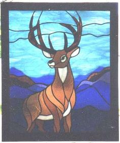 Buck stained glass idea