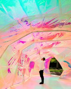 SelgasCano, Iwan Baan, NAARO, Jim Stephenson · Serpentine Pavilion 2015 · Divisare
