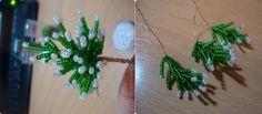Herringbone Beans Miniature Christmas Tree