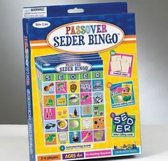 5 Ideas for a Fun Holiday - Passover Seder Bingo - mazelmoments.com   Tips for a Kid-friendly Passover Seder