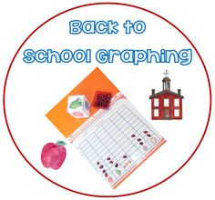 No-Prep Back to School Graphing and Read/Write the Room  JUST PRINT AND GO!