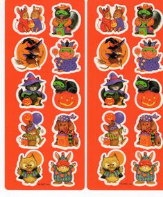 Halloween Illustration, New Sticker, American Greetings, Vintage Halloween, Trick Or Treat, Tattoo Inspiration, 1980s, Halloween Costumes, Vintage Items