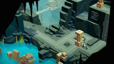 Lee Lara Croft GO, un puzzle a lo Tomb Raider