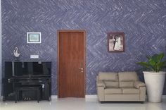 """MyWoodWall """"Blue Ocean"""" Peel & Stick wood wall panels. Available to buy directly from our Outlet Store. Not in stock? Contact us and we will discuss your requirements. Timber Wall Panels, Timber Walls, Timber Panelling, Wood Panel Walls, Stick On Wood Wall, Peel And Stick Wood, Diy Wood Wall, Plasterboard Wall, Blue Wood"""