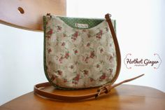 drop-shape sling bag