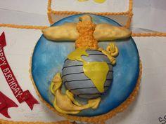 237th USMC Birthday cake