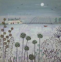 Jo Grundy Artist - Winter Twilight