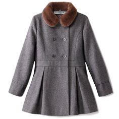 Manteau   Mantel  bleucommegris  createur  laredoute. Bleu comme gris · Bleu  comme gris pour La Redoute 1a760ec2998