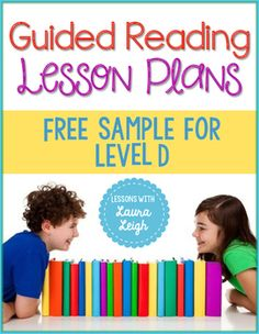 FREE Guided Reading Lesson ... by Lessons with Laura Leigh   Teachers Pay Teachers