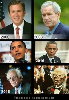 Bernie Sanders will turn 83 in 2024. He is TWENTY YEARS older than Obama