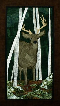 """""""The Buck Stops Here"""" pieced quilt pattern by Cynthia England at England Design"""