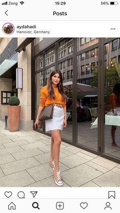 Bell Sleeves, Bell Sleeve Top, Orange Line, Luxury Bags, Tops, Women, Fashion, Moda, Fashion Styles