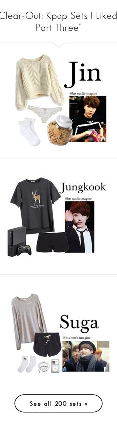 """Clear-Out: Kpop Sets I Liked 