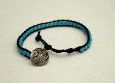 WIN this Turquoise Beaded Wrap Bracelet at The Funky Monkey! Giveaway ends 12/28/12.
